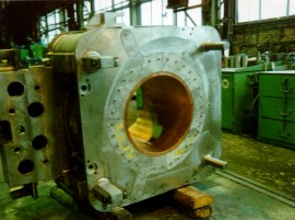 Continuous casting plants equipment