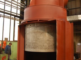 Blast furnaces equipment