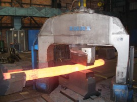 Smith forgings incl. the heat treatment