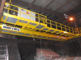 Cranes and handling devices