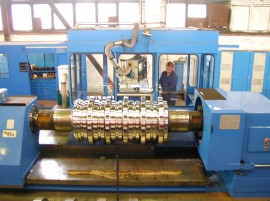 Roll-turning Plant